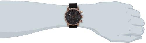Calvin Klein Herren-Armbanduhr Chronograph Quarz Leder K2G276G3 - 4