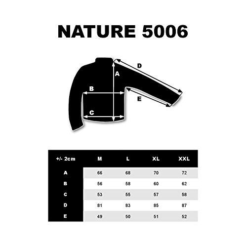 BOLF Herren Kunstlederjacke mit Reißverschluss Stehkragen Täglicher Stil NATURE 5006 Schwarz L [4D4] - 7