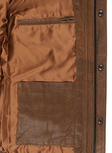 SOLID Lash Lederjacke, Größe:L;Farbe:Cognac (5048) - 6