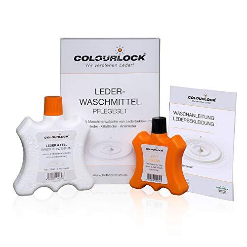 LEDER-FEIN Lederwaschmittel + Leder Fixativ 250 ml / 100 ml