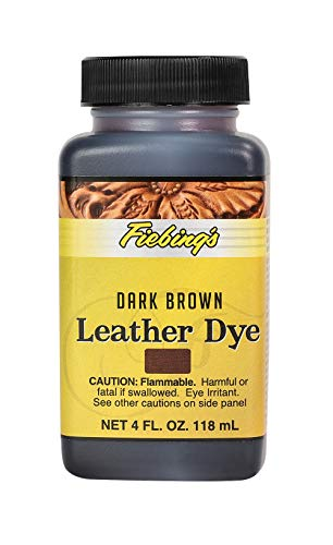 Fiebing's Leather Dye 118ml, Colour: Dark Brown