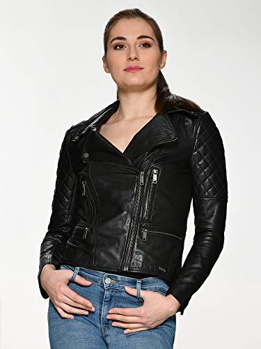 Maze Damen Lammleder Jacke , Schwarz - 6