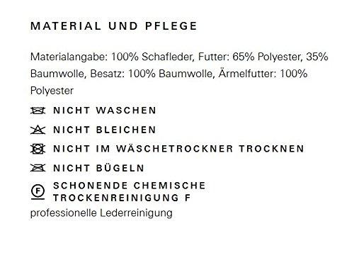 BOSS Herren Lederjacke Echtleder Jeeper // Braun - 2