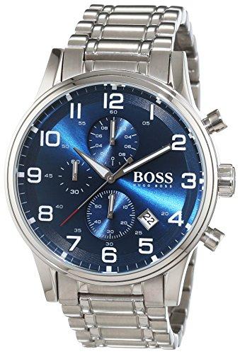 Hugo Boss Herren-Armbanduhr Chronograph Quarz Edelstahl 1513183