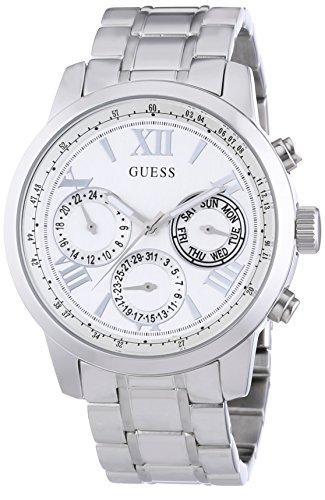 Guess Damen-Armbanduhr Chronograph Quarz Edelstahl W0330L3