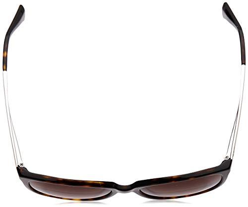 Emporio Armani Unisex Sonnenbrille 502613, Mehrfarbig (Dark Havana, Medium (Herstellergröße: 55) - 4