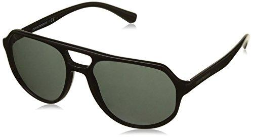 Emporio Armani Herren Sonnenbrille 0ea4111, Schwarz (Black), 57
