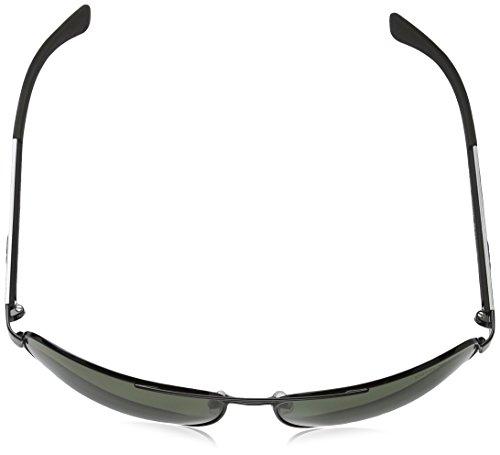 Emporio Armani Unisex Sonnenbrille EA2036, Schwarz (Black 30149A), X-Large (Herstellergröße: 64) - 4