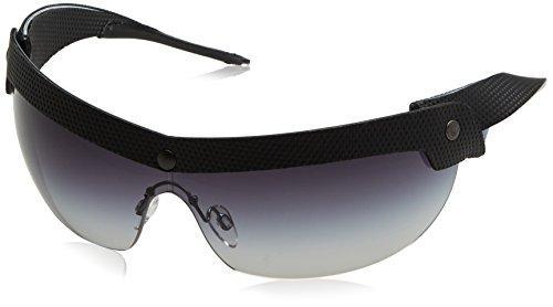 Emporio Armani Herren Sonnenbrille EA4021, Schwarz (Black/Blue 51388G), One Size (Herstellergröße: 40)