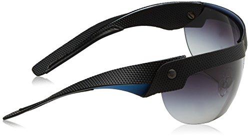 Emporio Armani Herren Sonnenbrille EA4021, Schwarz (Black/Blue 51388G), One Size (Herstellergröße: 40) - 3