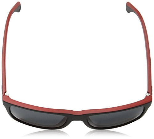 Emporio Armani Unisex Sonnenbrille EA4033, Mehrfarbig (Black/red Rubber 532487), Large (Herstellergröße: 56) - 4