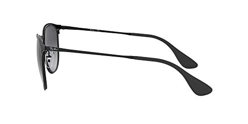 Ray Ban Unisex Sonnenbrille Erika Metal, (Gestell: schwarz, Gläser: grauverlauf 002/8G), Large (Herstellergröße: 54) - 2