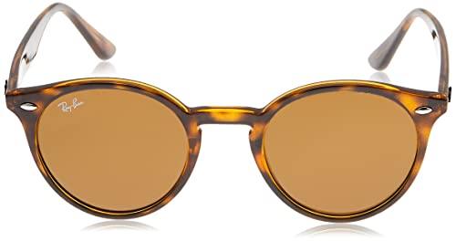 Ray-Ban Unisex Sonnenbrille Rb 2180, Mehrfarbig (Gestell: Havana,Gläser: braun Klassisch 710/73), Medium (Herstellergröße: 49) - 2