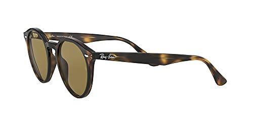 Ray-Ban Unisex Sonnenbrille Rb 2180, Mehrfarbig (Gestell: Havana,Gläser: braun Klassisch 710/73), Medium (Herstellergröße: 49) - 3