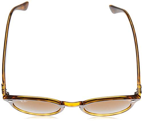 Ray-Ban Unisex Sonnenbrille Rb 2180, Mehrfarbig (Gestell: Havana,Gläser: braun Klassisch 710/73), Medium (Herstellergröße: 49) - 4