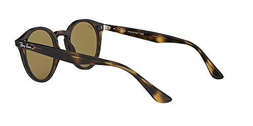Ray-Ban Unisex Sonnenbrille Rb 2180, Mehrfarbig (Gestell: Havana,Gläser: braun Klassisch 710/73), Medium (Herstellergröße: 49) - 5