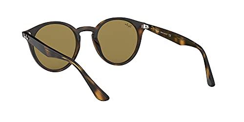 Ray-Ban Unisex Sonnenbrille Rb 2180, Mehrfarbig (Gestell: Havana,Gläser: braun Klassisch 710/73), Medium (Herstellergröße: 49) - 6