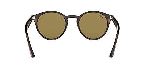 Ray-Ban Unisex Sonnenbrille Rb 2180, Mehrfarbig (Gestell: Havana,Gläser: braun Klassisch 710/73), Medium (Herstellergröße: 49) - 7