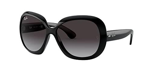 Ray Ban Unisex Sonnenbrille Jackie Ohh II, Gr. X-Large (Herstellergröße: 60), Schwarz (Gestell: Schwarz, Gläser: Grau Verlauf 601/8G) - 2