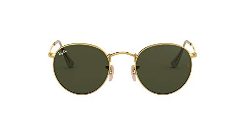 Ray-Ban Unisex Sonnenbrille Rb 3447, (Gestell: Gold, Gläser: Grün Klassisch 001), Medium (Herstellergröße: 47)