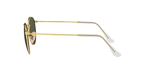 Ray-Ban Unisex Sonnenbrille Rb 3447, (Gestell: Gold, Gläser: Grün Klassisch 001), Medium (Herstellergröße: 47) - 3