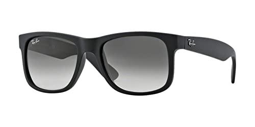 Ray Ban Unisex Sonnenbrille RB4165 Schwarz (Gestell: Schwarz, Gläser: Grau Gradient 601/8G), Large (Herstellergröße: 54) - 2