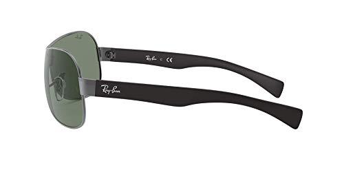 Ray Ban Sonnenbrille Metallic RB 3471 schwarz - 3