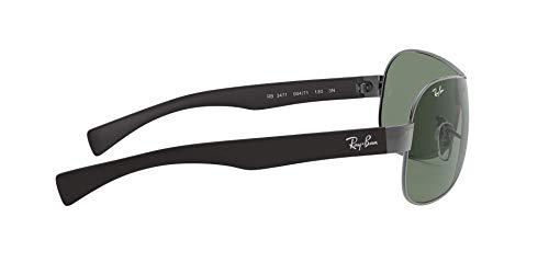 Ray Ban Sonnenbrille Metallic RB 3471 schwarz - 4