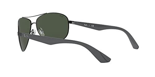 Ray-Ban Unisex Sonnenbrille 0rb3526, (Gestell: schwarz Glas: grau grün 006/71), Large (Herstellergröße: 63) - 5