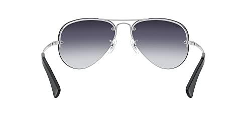 Ray-Ban Unisex Sonnenbrille Rb 3449, (Gestell: Silber, Gläser: Grau Verlauf 003/8G), Large (Herstellergröße: 59) - 7