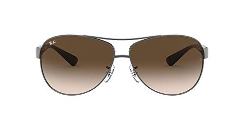 Ray Ban Sonnenbrille Metallic RB 3386 004/13 silber 67