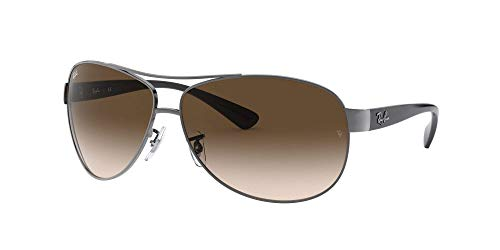 Ray Ban Sonnenbrille Metallic RB 3386 004/13 silber 67 - 2