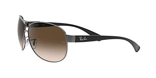 Ray Ban Sonnenbrille Metallic RB 3386 004/13 silber 67 - 3