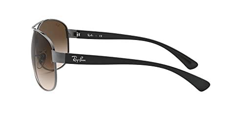 Ray Ban Sonnenbrille Metallic RB 3386 004/13 silber 67 - 4