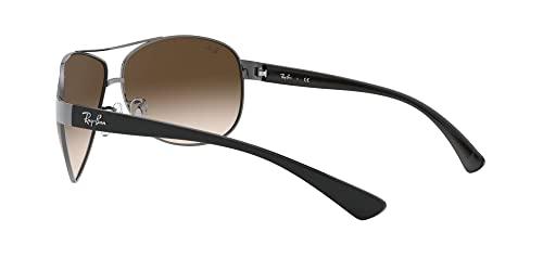 Ray Ban Sonnenbrille Metallic RB 3386 004/13 silber 67 - 5