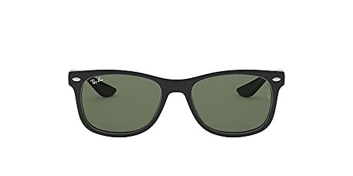 Ray Ban Unisex Sonnenbrille NEW WAYFARER JUNIOR, Herstellergröße: 47, Schwarz