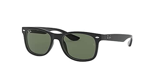 Ray Ban Unisex Sonnenbrille NEW WAYFARER JUNIOR, Herstellergröße: 47, Schwarz - 2