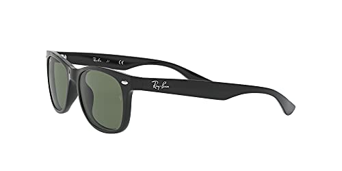 Ray Ban Unisex Sonnenbrille NEW WAYFARER JUNIOR, Herstellergröße: 47, Schwarz - 3