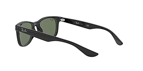 Ray Ban Unisex Sonnenbrille NEW WAYFARER JUNIOR, Herstellergröße: 47, Schwarz - 5
