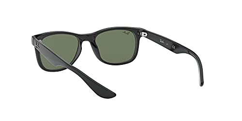 Ray Ban Unisex Sonnenbrille NEW WAYFARER JUNIOR, Herstellergröße: 47, Schwarz - 6