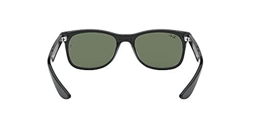 Ray Ban Unisex Sonnenbrille NEW WAYFARER JUNIOR, Herstellergröße: 47, Schwarz - 7