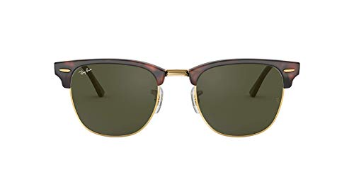 Ray-Ban Clubmaster Metallic RB 3016 Wayfarer Sonnenbrille, Brown