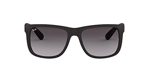 Ray-Ban Unisex - Erwachsene Sonnenbrille Justin, Herstellergröße: 54, Black