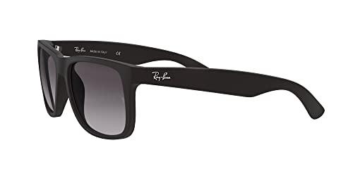 Ray-Ban Unisex – Erwachsene Sonnenbrille Justin, Herstellergröße: 54, Black - 3