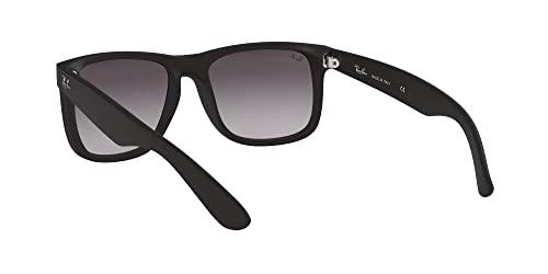 Ray-Ban Unisex – Erwachsene Sonnenbrille Justin, Herstellergröße: 54, Black - 6
