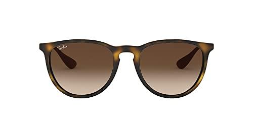 Ray Ban Unisex Sonnenbrille Erika Classic, Havana/Gunmetal, Gläser: Braun