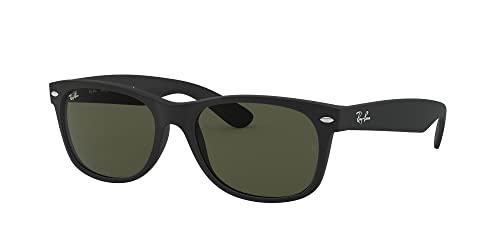 Ray-Ban Unisex Sonnenbrille New Wayfarer, Größe: 55, Schwarz - 2