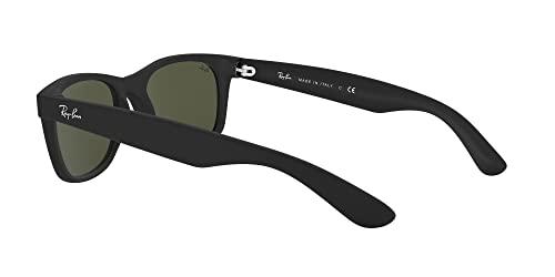 Ray-Ban Unisex Sonnenbrille New Wayfarer, Größe: 55, Schwarz - 5