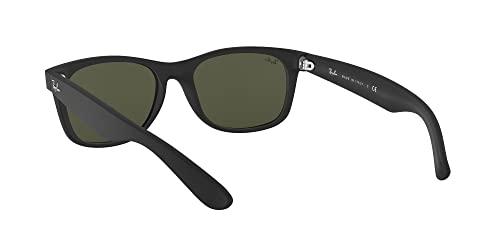 Ray-Ban Unisex Sonnenbrille New Wayfarer, Größe: 55, Schwarz - 6