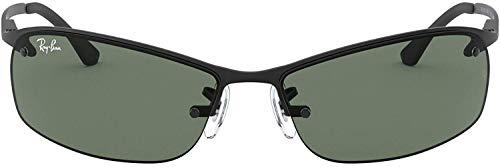 Ray Ban Unisex Sonnenbrille Top Bar, Schwarz